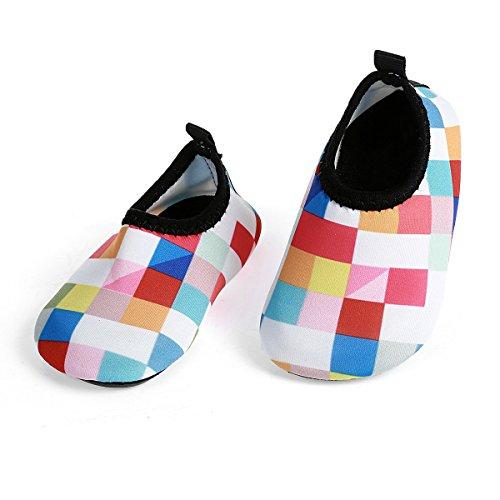 5900c352c JIASUQI Zapatillas de Deporte para bebés y niños Zapatillas de Agua  Descalzas para Piscina de natación