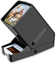 DIGITNOW! 35mm Film Scanner and Slide Viewer, 3X Magnification and Desk Top LED Lighted Illuminated Viewing an