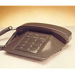 Audioline TEL 38 Classic Phone - Dark Grey (Doro) with Hands free speaker phone