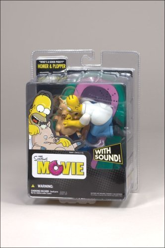 "The Simpsons Movie Homer and Plopper ""Who's a Good Piggy"" McFarlane Figure by McFarlane 1"