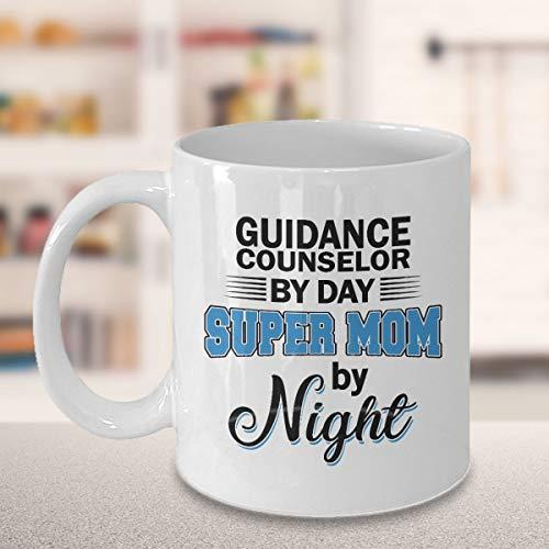 """Kaffeebecher mit englischer Aufschrift""""Guidance Counselor"""" (englischsprachig)"""