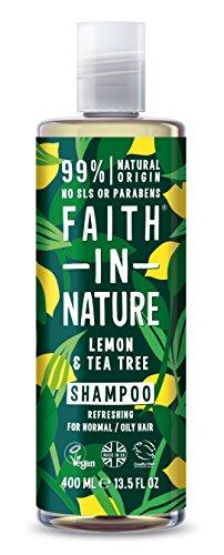Faith in Nature Limon/Tea Tree Shampooing