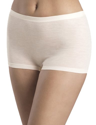 Hanro Damen Panty Woolen Silk Beige (cygne 0795)