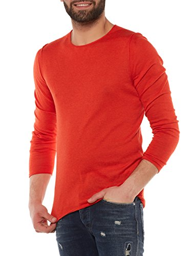 BOSS Orange Herren Pullover Rot