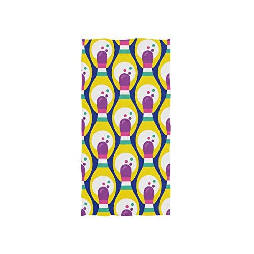 Bowlingkugel Unterhaltung Sport Soft Spa Strand Badetuch Fingerspitze Handtuch Waschlappen Für Baby Erwachsene Badezimmer Strand Dusche Wrap Hotel Reise Gym Sport 30x15 Zoll