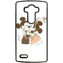 Mickey Mouse 0ojre6 caso funda de teléfono celular lg teléfono g4 j65gf4 negro caso funda dura 3d