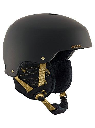 Anon lynx, casco snowboard donna, frontier black, m