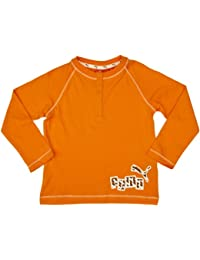 Puma Infants Boys Long Sleeve T-Shirt for 2 - 4 Months (Orange)