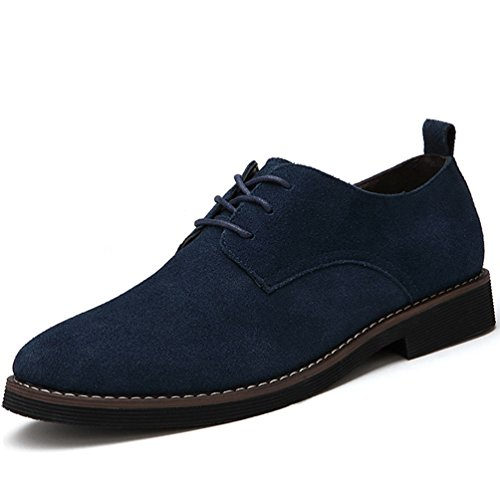 Qianliuk Männer Oxfords Faux Wildleder Leder Herren Casual Schuhe Frühling Herbst Mode Oxford Schuhe Männer -