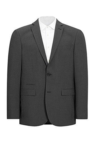next Homme Coupe Classique Costume Texturé: Veste Gris