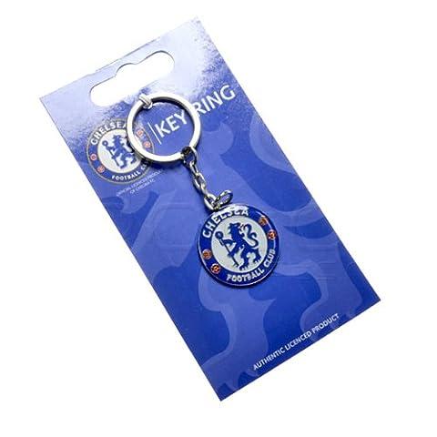 Official Football Team Porte-clé en métal avec blason Kit de tout Porte-clés fournies au conditionnement., - Chelsea FC