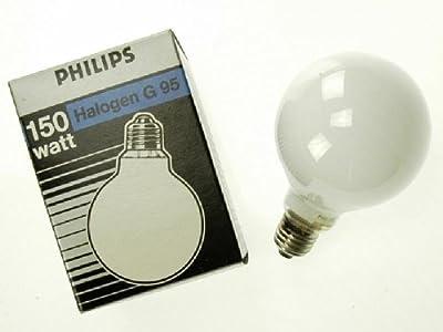 Philips Globe-Lampe Halogen A G95 230V E27 150W Opal von Philips - Lampenhans.de