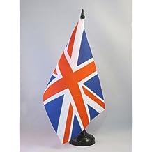 AZ FLAG TISCHFLAGGE Vereinigtes KÖNIGREICH 21x14cm - BRITISCHE TISCHFAHNE 14 x 21 cm - Flaggen