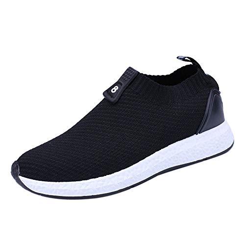 GongzhuMM Chaussures de Sports Homme Chaussures Bateau Sneakers Chaussures de Course Mocassins Loafers Homme Vert/Gris/Noir 39-42.5 EU