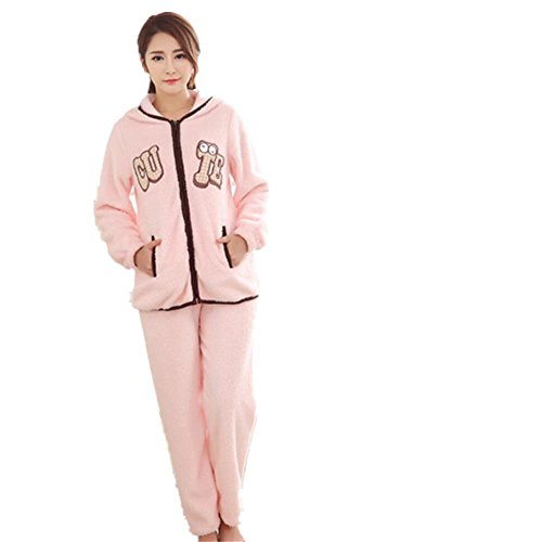 LIUDOU Coral Fleece pyjama flanelle filles Cute