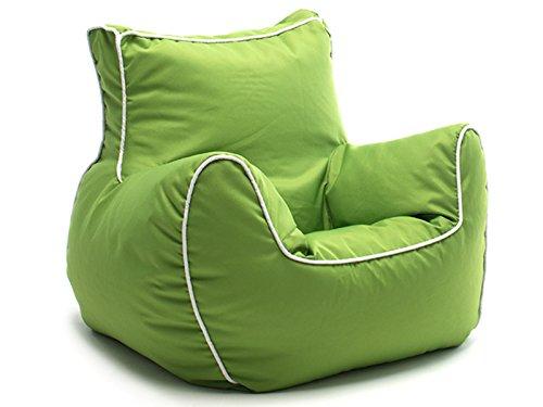 """Kindersitzsack Kissen Relaxkissen Sitzkissen Sessel Relaxsessel Sitting Bag \""""Bamp I\"""" grün"""