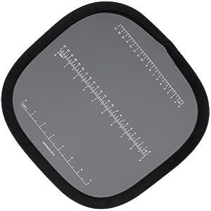 41WA%2BHKbc0L. SS300  - Helios Falt-Graukarte mit cm-Einteilung 30 cm