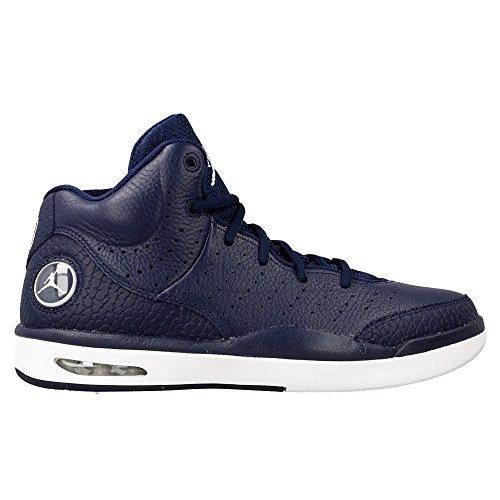 Nike Jordan Flight Tradition, Chaussures de Sport-Basketball Homme, Noir Bleu - Azul (Midnight Navy / White)