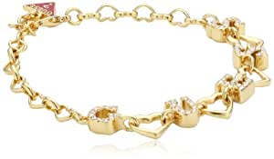 Guess Damen-Armband Metall Bracelet 18-21cm UBB81179