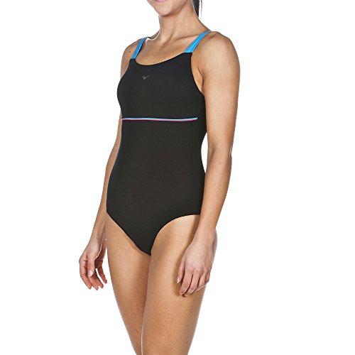 arena Damen Bodylift Ingrid Badeanzug Black/Turquoise/Calypso