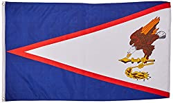 American Samoa Flagge Fahne 90x150 cm Polyester by OnebasispointEU