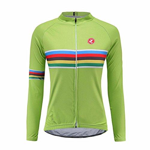 Uglyfrog LJW05 2018-2019 New MTB Bike Wear Neue Frühling & Herbst Fahrradtrikot Langarm Shirt Damen Spring Breathable Lange Hülsen Jersey Fahrradbekleidung -