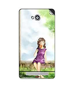 STICKER FOR KARBONN A6 BY instyler
