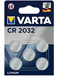 Varta CR2032 - Pack de 5 Pilas (Litio, 3V, 230 mAh)