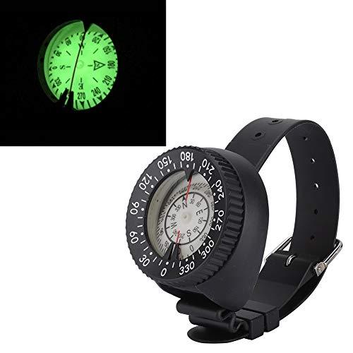 Delaman Tauchkompass, wasserdichter Nachtsicht-Handgelenk-Kompass Südliche Hemisphäre-Armband für das Tauchen
