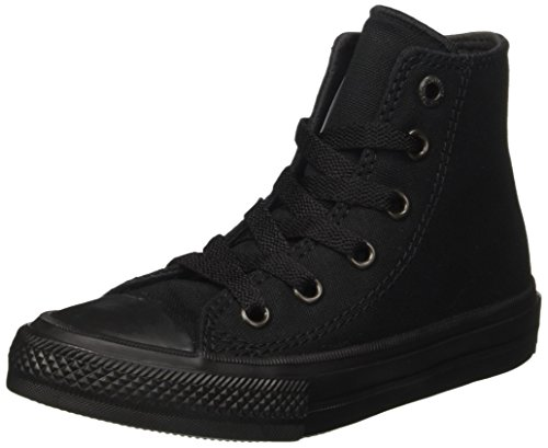 Converse Unisex-Kinder Ctas Ii Hi Sneakers Schwarz (Nero)