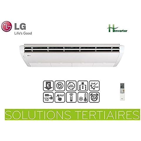 Set LG mono-split H-INVERTER-CONSOLE convertibile e UV42H.NL1-Plafoniera UU42WH.U31