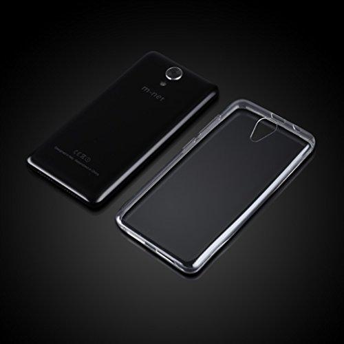 m-net Power 1 Protección de Silicona Transparente Softshell