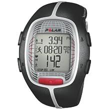 Polar RS300X - Reloj con pulsómetro y compatible con GPS para running y multisport (negro)