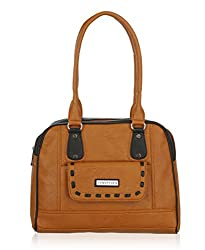 Fantosy Women's handbag (Tan, FNB-487)