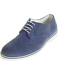 Khadims Lazard Men Navy Lifestyle Brogue Shoe