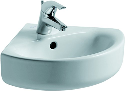 Ideal Standard E713601Connect Waschbecken Eck Arc 45cm Weiß