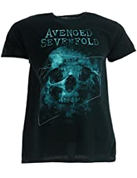 Avenged Sevenfold Galaxy Black T-shirt Official Licensed Music