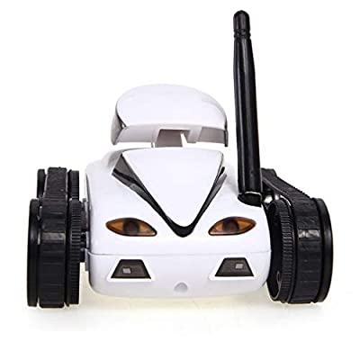 LSQR Mini Remote Control I-Spy Wifi Tank Robot with 0.3mp Camera Remote Control By Iphone and Android Phone Remote Control Tank Kids Toy