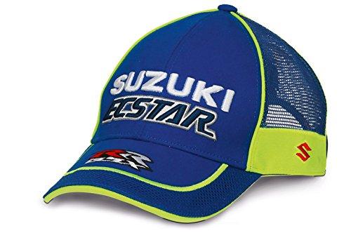 Base-team (Suzuki MotoGP Ecstar Team Base Cap Blau Neon Weiß)