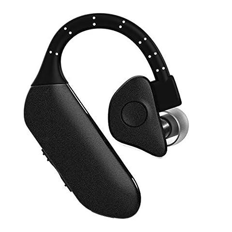 LESHP Écouteurs Bluetooth sans fil Sportif Q8 Invisible écouteurs Étanche