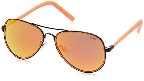 IDEE Aviator Sunglasses (IDS1957C7SG|56|Black and Orange ) image