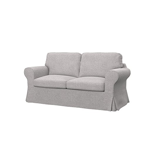 Soferia - IKEA EKTORP Funda para sofá Cama de 2 plazas, Naturel...