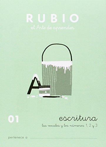 Cuadernos Rubio: Escritura 01 por Ramón Rubio Silvestre