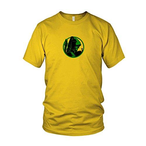 Oliver - Herren T-Shirt, Größe: S, Farbe: gelb (Green Arrow Kostüm Staffel 4)