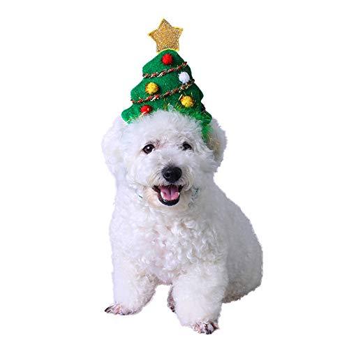 PEDOMUS Katze Kostüm Weihnachtsbaum Kopf Hoop Katze Hund -