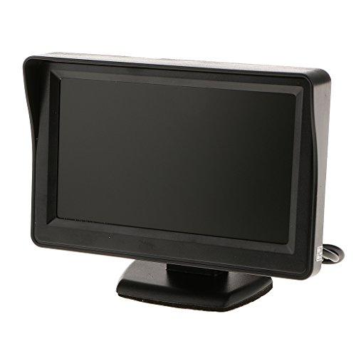 Cmos-kamera-lcd (MagiDeal 4.3 Zoll LCD Wasserdichte Auto Rückfahrkamera Monitor CMOS Nachtsicht Rückfahr Kamera)