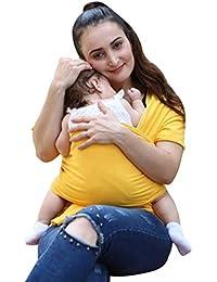 Echarpes bébé portage , Tpulling Sac à dos Porte Bébéle Porte-bébé Fait de Coton Elastique