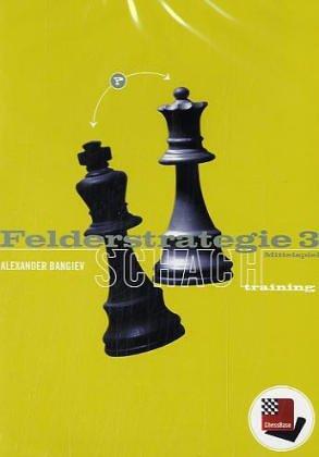 Felderstrategie 3, ChessBase Schachtraining. CD-ROM Mittelspiel. Für Windows 98 SE/2000/Me/XP