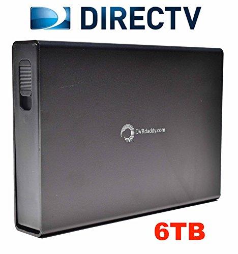 6TB dvrdaddy Externe DVR-Festplatte Expander für DirecTV hr34, HR44und HR54Genie DVR. + 6.000Stunden Aufnahme Kapazität und. Dvr Expander