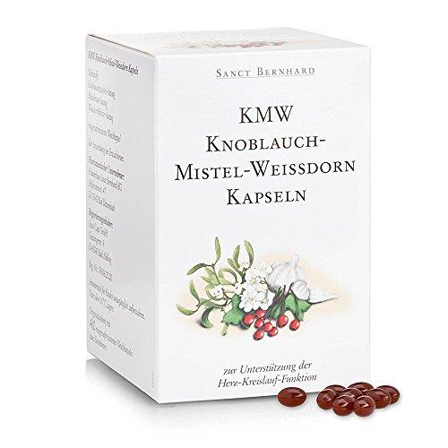 Sanct Bernhard KMW Knoblauch-Mistel-Weißdorn Kapseln, 480 Kapseln